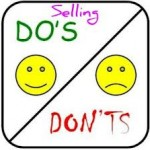 selling dos donts